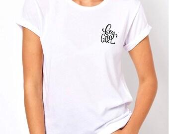 Hey girl shirt, women shirt, workout shirt, fitness shirt, unisex fashion, women tee, women top, graphic shirt, tshirt, gift for girls