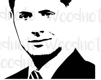 Dean Winchester SVG I'm Batman Supernatural Jensen Ackles Digital File