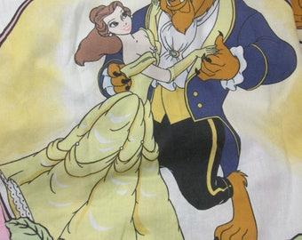 Disney Beauty and the Beast Mrs Potts Twin Flat Sheet