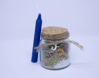 spell jar for creativity
