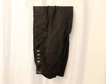 Vintage 90s Nike Full-Snap Track Pants - XL