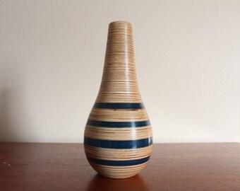 The Plywood & Epoxy Vase