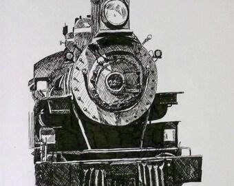 Train (Print)