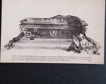 Vintage Napoleon coffin
