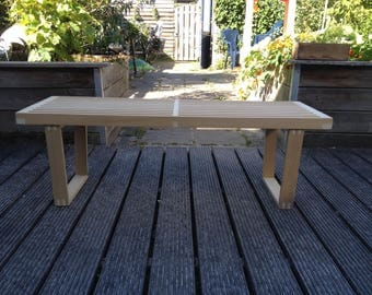Bench to original design by George Nelson