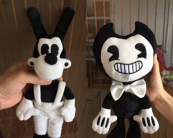 Bendy and the ink machine Bendy / Boris / Alice - Toy Figure Plush Doll 35 cm