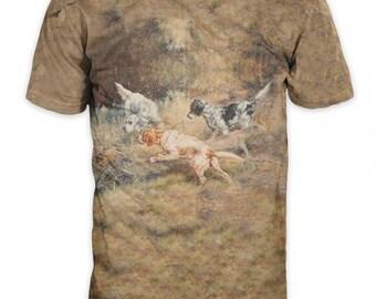 T-shirt 3d short sleeve hunting-Realtree camo-Dog