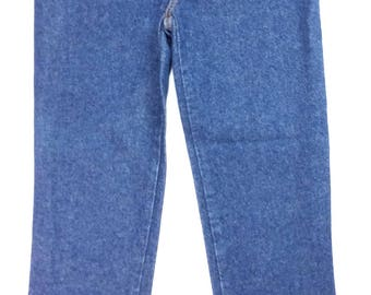 "Vintage High Waisted & Tapered Bongo Women's Jeans | Mid Wash | 26""X28"" 