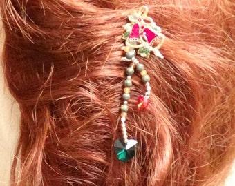 Christmas Bells Hair Combs