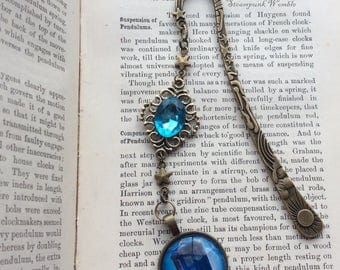 Doctor Who inspired steampunk bookmark