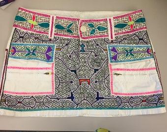 Shipibo Embroidered Skirt