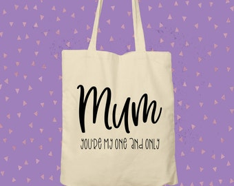 Give a tote a loving home / Totes for mums / shopping bag