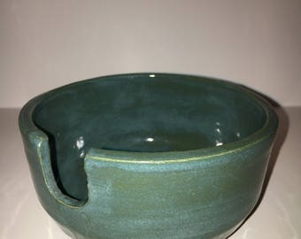 Teal berry bowl