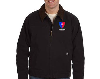 38th Infantry Division Embroidered DRI-DUCK Outlaw Jacket-7503