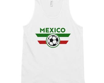 Men's Mexico Soccer Classic Tank Top
