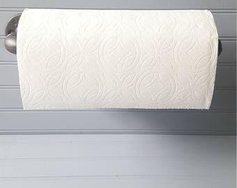 Pipe Paper Towel Holder
