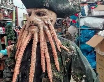 Davy Jones Mask, Pirates of Caribbeans