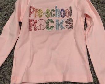 Preschool Rocks - size 4