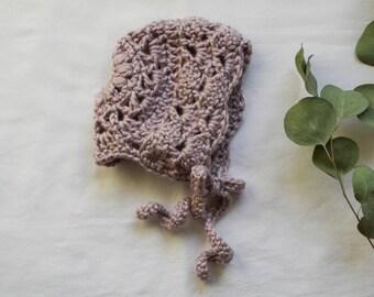 Norah Lavender Bonnet