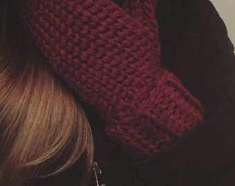 Wool Mittens (Crochet Winter Wear)