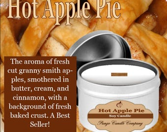 Hot Apple Pie Soy Candle Tin (8 oz.)