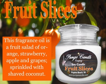 Fruit Slices Scented Soy Jar Candle (16 oz.)