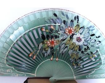 Hand Painted Spanish Fan