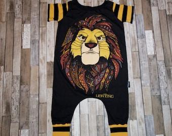 Simba Lion King Romper