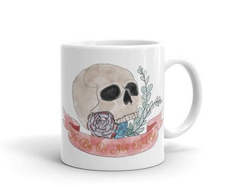 Hamlet Skull and Succulents