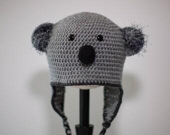 Crochet Koala Hat