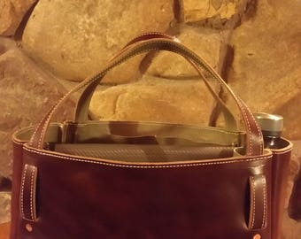 Latigo Leather Tote Bag
