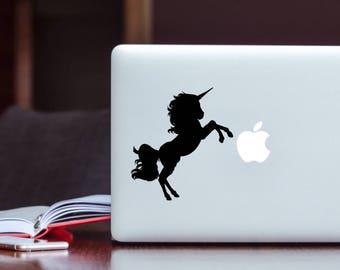 Custom Laptop Decal- Unicorn Laptop Decal- Laptop Decal- Laptop Art- Unicorn Decal