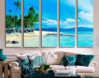 Paradise Beach Wall Art 510