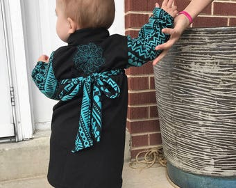 Toddler Wrap Jacket