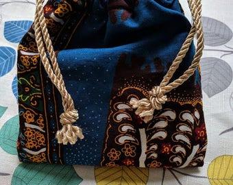 Tarot Pouch, Drawstring Bag, Dice Bag