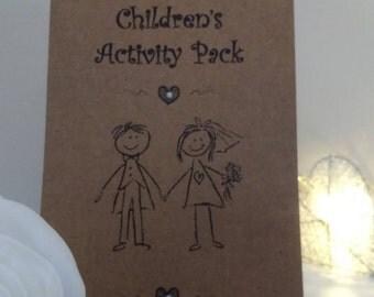 Children's Wedding Activity Pack