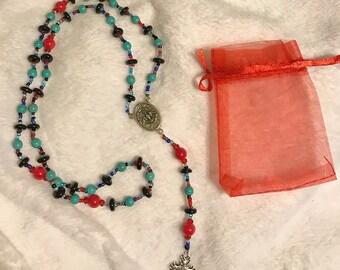 Handmade Holy Dove Rosary