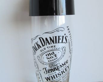 Jack Daniels Tennessee Whiskey Shaker/Mixer Glass Old no 7, Jack's 159th birthday