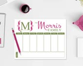 Family Planner Notepad - ...