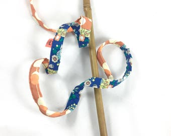Cats And Flowers Mewdle For Mew Crinkle Cat Wand Teaser Toy, Pet Exercise, Interactive Toy