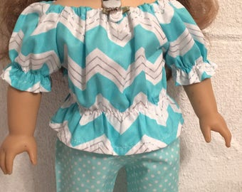"Pants #12 doll clothes that fit 18"" dolls like the American girl"