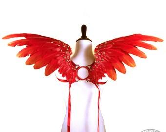 Phonix Wings - Raimel No. 3 - Small Custom Feather Angel Wings