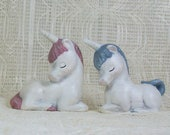 Unicorn Figurines / Unicorn Statues / Unicorn Gifts / Unicorn Decor / Unicorn Room Decor / Ceramic Unicorns / Unicorn Decorations