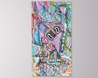 Awakening (original painting) 70x130cm