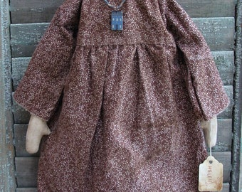 Primitive Handmade Folk Art Farm House Rag Doll