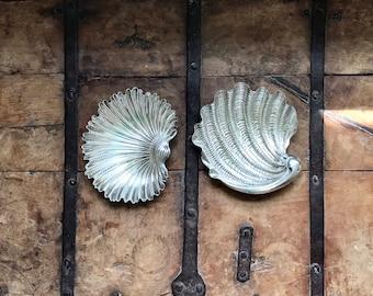Buccellati Sterling Silver Arca or Tridacna Shell Dish (Medium)