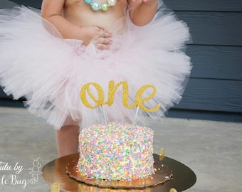 First Birthday Outfit Girl Tutu, Baby Tutu Dress, Baby Girl Tulle Skirt, Baby Shower Gift, Newborn Girl Coming Home Outfit 1st Birthday Tutu