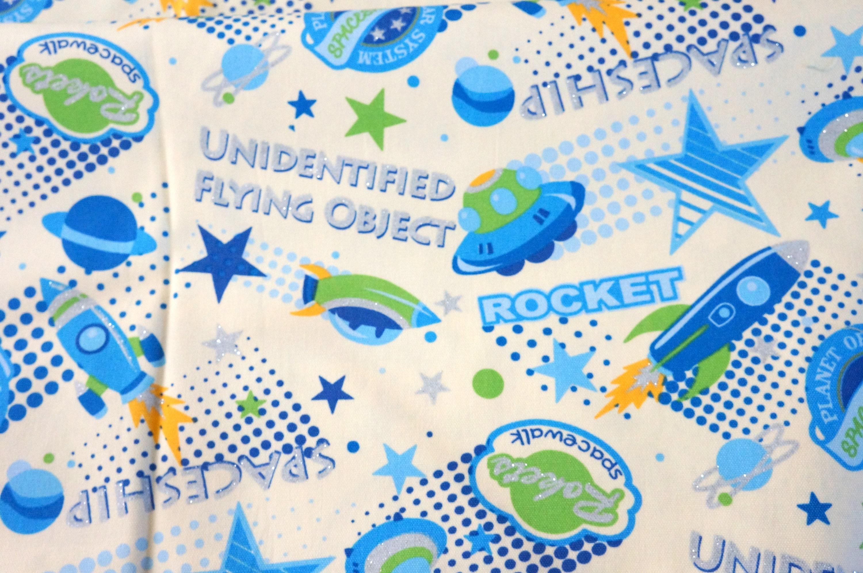 Japanese fabric outspace theme nc33 from beautifulwork on for Space inspired fabric