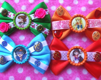 Sailor Moon Inner Scout Hair Bows