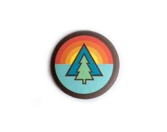 Tree Sunrise button